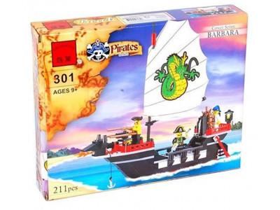Конструктор Пираты «Корабль корсаров Барбара» (Brick 301)