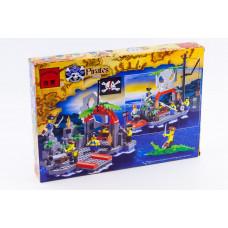 Конструктор Пираты «Бухта пиратов» (Brick 309)
