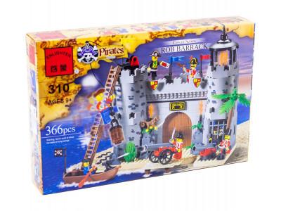 Конструктор Пираты «Пиратский замок» (Brick 310)