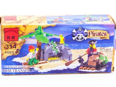 Конструктор Пираты «Пиратский клад» (Brick 314)