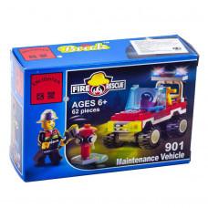 Конструктор Пожарные «Пожарная машина» (Brick 901)
