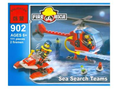 Конструктор Пожарные «Вертолет» (Brick 902)