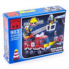 Конструктор Пожарные «Пожарная машина» (Brick 903)