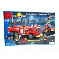 Конструктор Пожарные «Пожарная техника» (Brick 908)