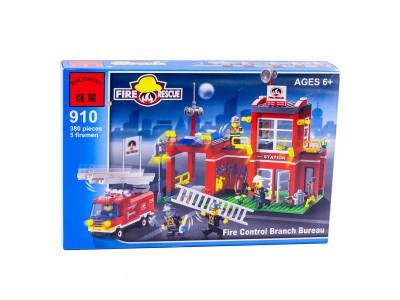 Конструктор Пожарные «Пожарная часть» (Brick 910)