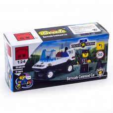 Конструктор Полиция «Полицейская машина» (Brick 124)