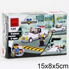 Конструктор Полиция «Полицейская машина» (Brick 125)