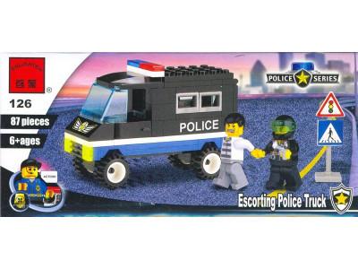 Конструктор Полиция «Фургон для преступников» (Brick 126)