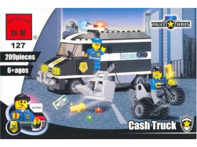 Конструктор Полиция «Полицейский фургон» (Brick 127)