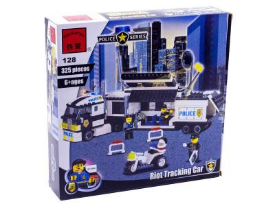 Конструктор Полиция «Полицейский фургон» (Brick 128)