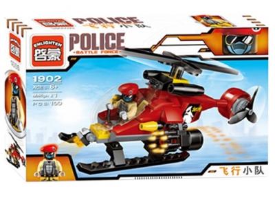Конструктор Полиция «Полицейский вертолет» (Brick 1902)