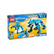 Конструктор Space War «Робот - трансформер 3 в 1»  (Brick 1403-1)