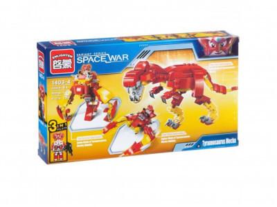 Конструктор Space War «Тиранозавр 3 в 1»  (Brick 1403-4)