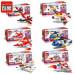 Набор 6 конструкторов Creative Master «Авиатранспорт» (Brick 1405)