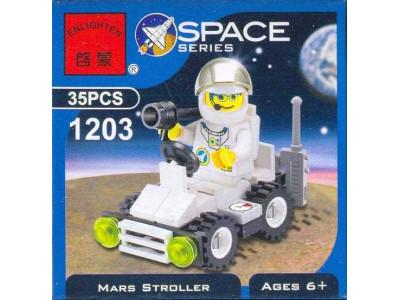 Конструктор Space «Лунный автомобиль» (Brick 1203)