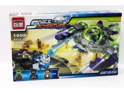 Конструктор Space adventure «Атака пришельцев» (Brick 1608)