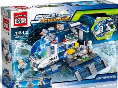 Конструктор Space adventure «Мобильная ремонтная станция» (Brick 1612)