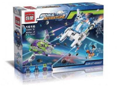 Конструктор Space adventure «Полицейский космический корабль » (Brick 1616)