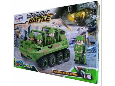 Конструктор Военная серия «Мини БТР» (Winner Box 1302)