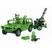 Конструктор Военная серия «Военная машина и пушка» (Winner Box 1304)