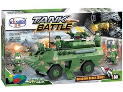 Конструктор Военная серия «БТР» (Winner Box 1306)