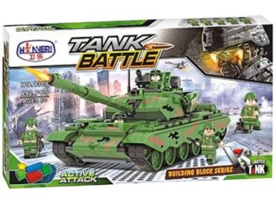 Конструктор Военная серия «Танк» (Winner Box 1308)