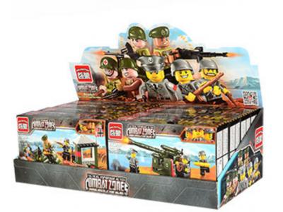 Набор 4 конструктора Военная серия «Военная техника» (Brick 1701-1704)