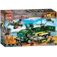 Конструктор Военная серия «Бронированный автомобиль» (Brick 1709)