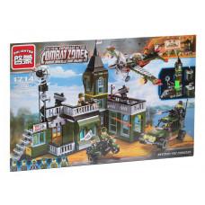 Конструктор Военная серия «Военная операция» (Brick 1714)