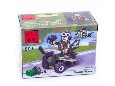 Конструктор Военная серия «Военный самолёт» (Brick 801)