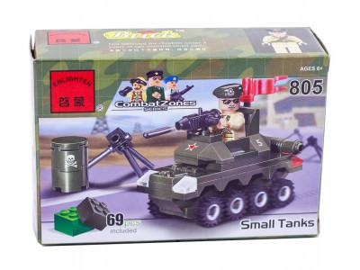 Конструктор Военная серия «Танк» (Brick 805)