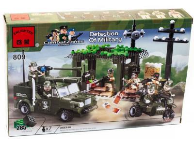 Конструктор Военная серия «Разведгруппа» (Brick 809)