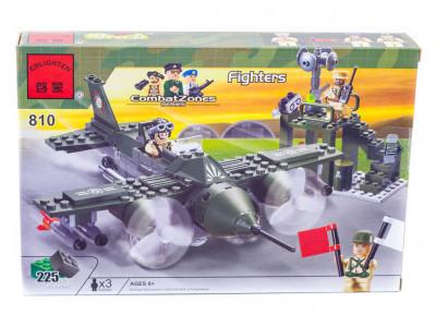 Конструктор Военная серия «Военный самолёт» (Brick 810)