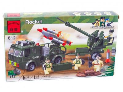 Конструктор Военная серия «Военная техника» (Brick 812)