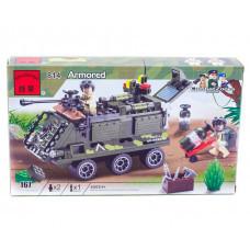 Конструктор Военная серия «Бронетранспортёр» (Brick 814)