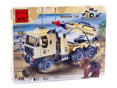 Конструктор Военная серия «Ракетная установка» (Brick 822)