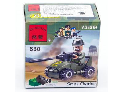 Конструктор Военная серия «Военный автомобиль» (Brick 830)