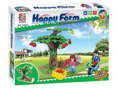 Конструктор Счастливая ферма «Ветряная мельница» (Jilebao 6003)