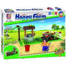 Конструктор Счастливая ферма «Колодец в саду» (Jilebao 6004)