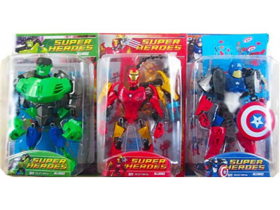 Конструктор Super Heroes «Bionicle» (2013-13), 3 вида