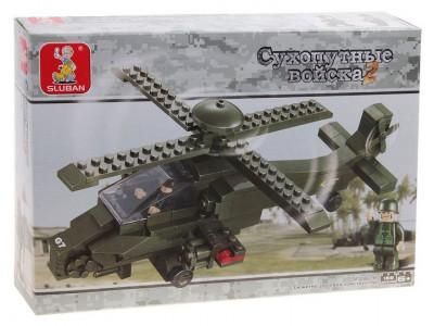 Конструктор Sluban Армия «Сухопутные войска 2: Вертолёт одноместный» (M38-B0298)