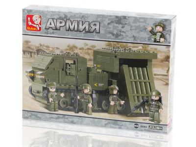 Конструктор Sluban Армия «Ракетный комплекс - Сухопутные войска» (M38-B0303)