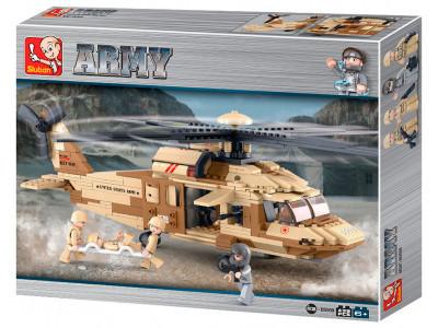 Конструктор Sluban Армия «Спасательный вертолет» (M38-B0509)