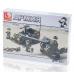 Конструктор Sluban Армия «Зенитное орудие и джип» (M38-B5900)