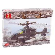 Конструктор Sluban Армия «Вертолет AH-64 Apache (Апач)» (M38-B6200)