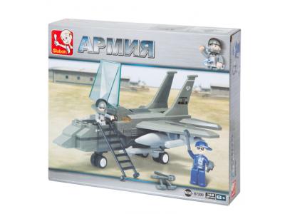 Конструктор Sluban Армия «Самолет F-15» (M38-B7200)