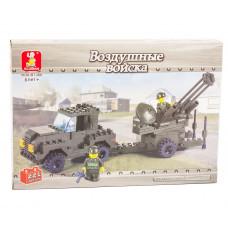 Конструктор Sluban Армия «Зенитная установка» (M38-B7300)