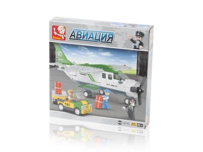 Конструктор Sluban Авиация «Грузовой самолет» (M38-B0362)