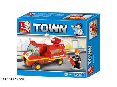 Конструктор Sluban Город «Пожарная машина» (M38-B0173)