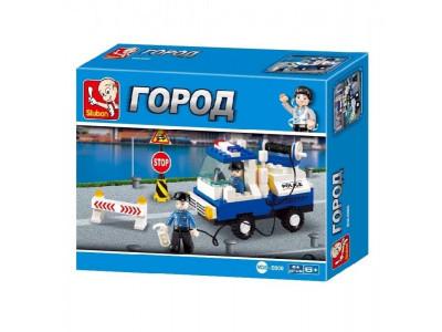 Конструктор Sluban Город «Полицейский эвакуатор» (M38-B900)